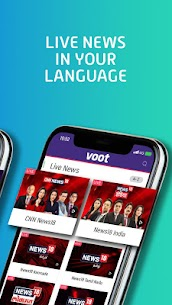 Voot – Watch Colors, MTV Shows, Live News & more App Download For Android and iPhone 6