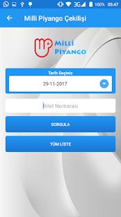 Milli Piyango Sorgulama - náhled