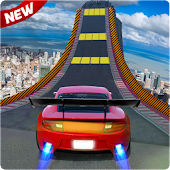 Impossible Car Racing Stunt Tracks 3D Game