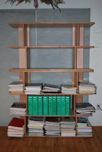 Photo: Our modular shelving components allows you to build as tall or as long as your shelving needs are.