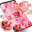 Pink rose gold live wallpaper APK