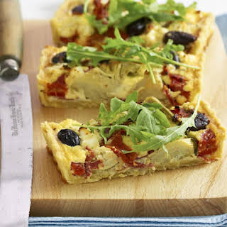 Antipasto Quiche.