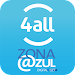 Zona Azul Oficial CET 4all Icon