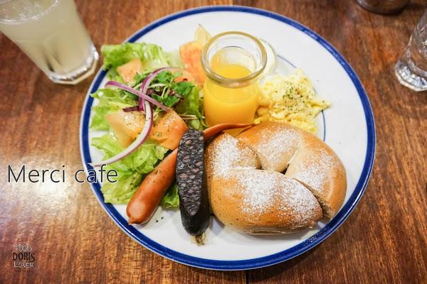 食記-板橋早午餐美食推薦-Merci Cafe-逛耶誕城前必吃餐廳X鄰近板橋車站