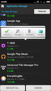 Advanced File Manager PRO Screenshot