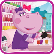 Hippo's Nail Salon: Manicure for girls