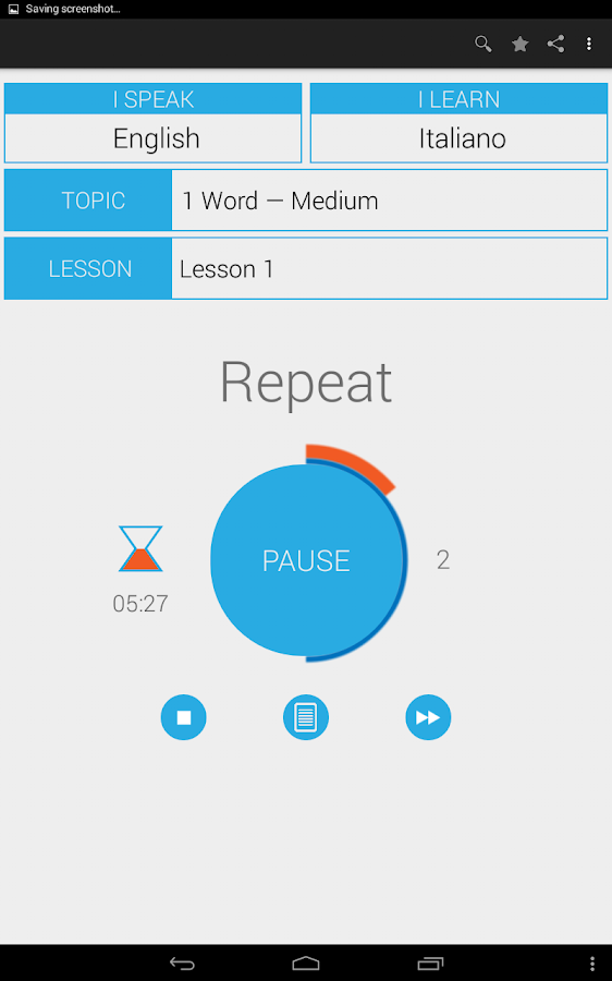 AudioBrain.Language- screenshot