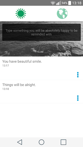 Good Thoughts Reminder