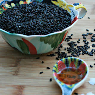BLACK RICE PORRIDGE.