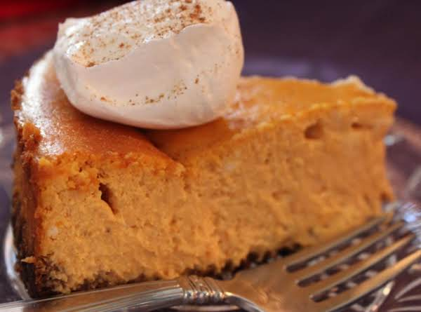 Harvest Pumpkin Cheesecake Recipe