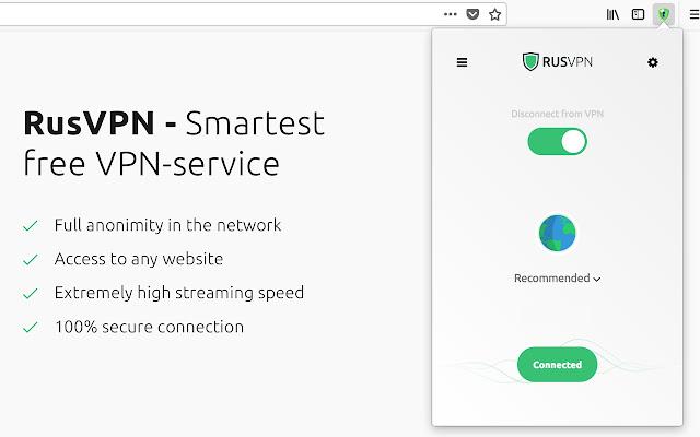 RusVPN - Free VPN service