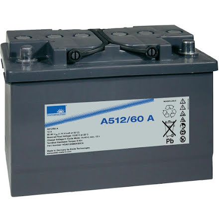 Gelbatteri 12V 60Ah Sonnenschein