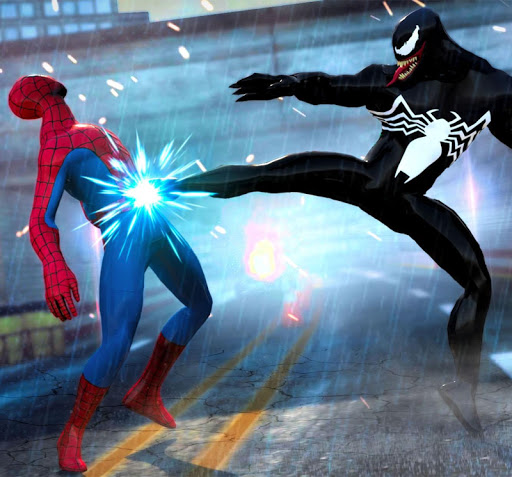 Grand Superhero Venom VS Spider Iron Hero Hunters 1.0 screenshots 5