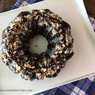 Easy German Chocolate Cake from a Cake Mix.