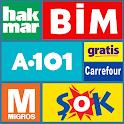 Aktüel Ürünler - A101 Bim Şok Marketleri icon