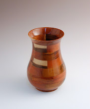 Photo: Bob Browning - Segmented Vase made in Nicaragua and purchased for $5