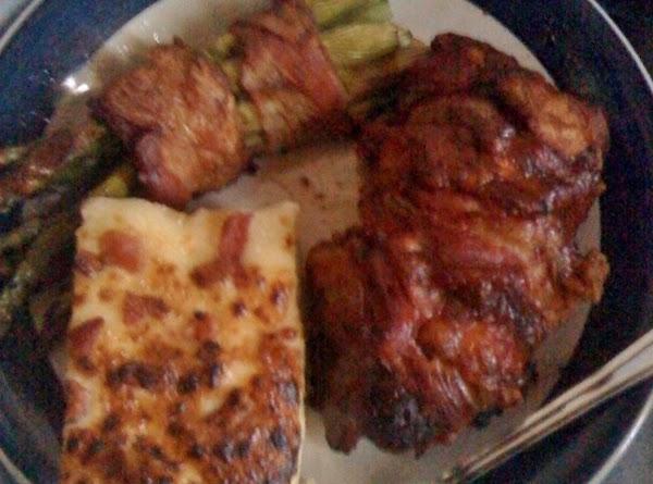 Bacon Wrapped Stuffed Steak Recipe