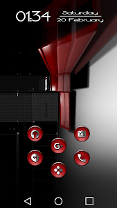 Dap Red - Icon Pack screenshot 0