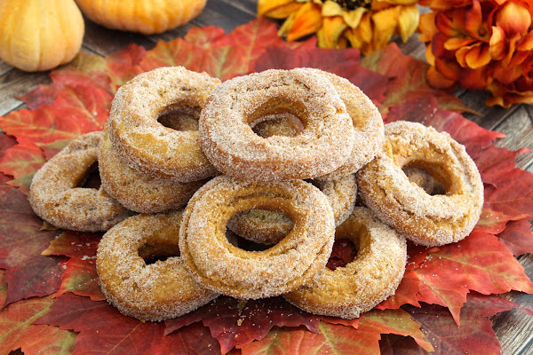 Pure Bliss Autumn Doughnuts Recipe