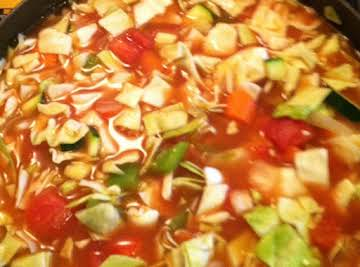 Bomb Diggity Cabbage Soup