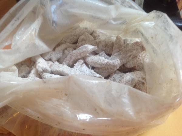 Now add in the beef strips and close bag and shake until all of...