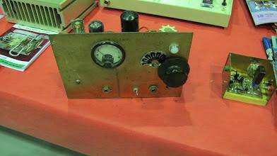 Photo: F6ABF, éetteur télégraphie à lampes