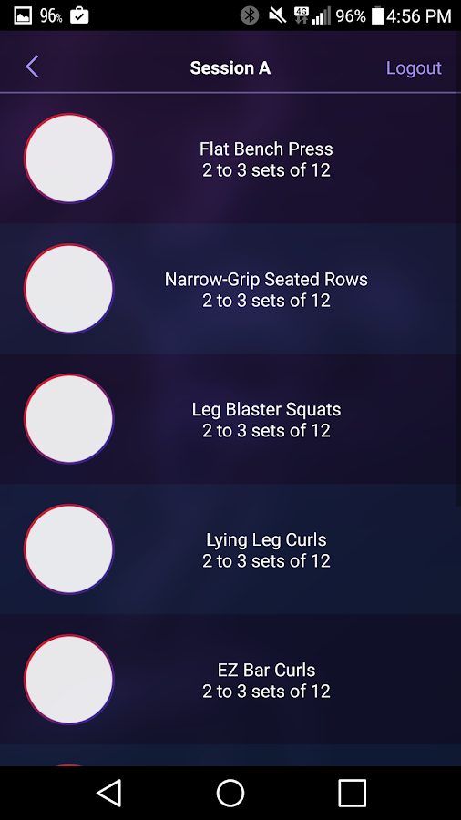 Power World Gyms Members' App- screenshot
