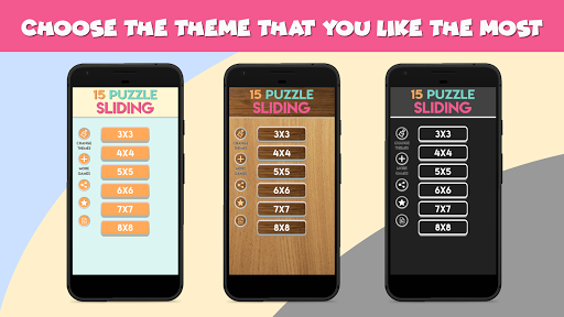 NumPuzzle: Sliding 15 Puzzle. Game of fifteen. screenshot 1