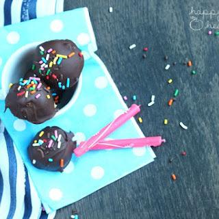 Lightened-Up Cake Batter Truffles.