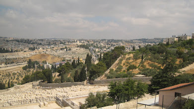 Photo: View of Jerusalem from Mt of Olives