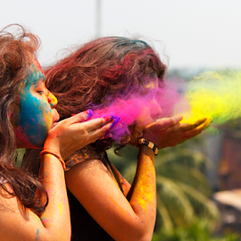 Spread the colors by Rajib Chatterjee - Babies & Children Child Portraits