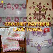 Crochet Pattern Lace Towel