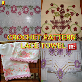 Crochet Pattern Lace Towel