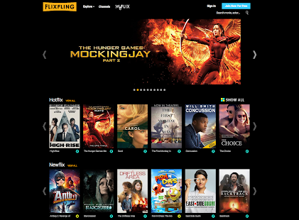 FlixFling - Movies and Music- screenshot thumbnail