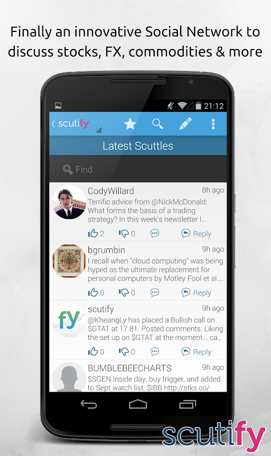 Scutify - screenshot