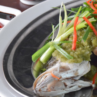 Chinese Steamed Fish With Ginger Paste