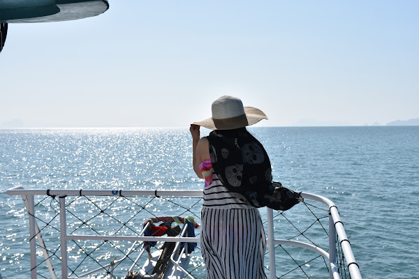 Cruise to the Southern Islands of Koh Lanta aboard the 2-deck tour boat