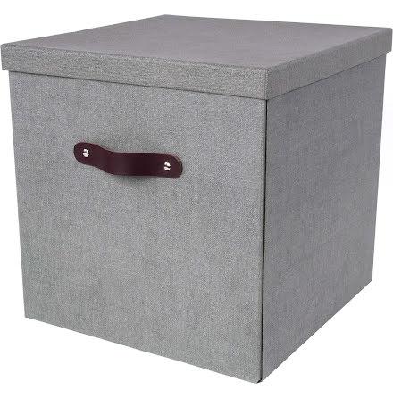 Box Bigso Texas canvas grå