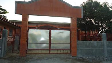 Photo: Aidan takan vasemmalla valmistuu Pastori Sonion talo.