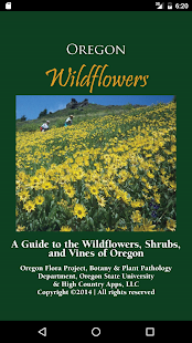 Oregon Wildflowers- screenshot thumbnail