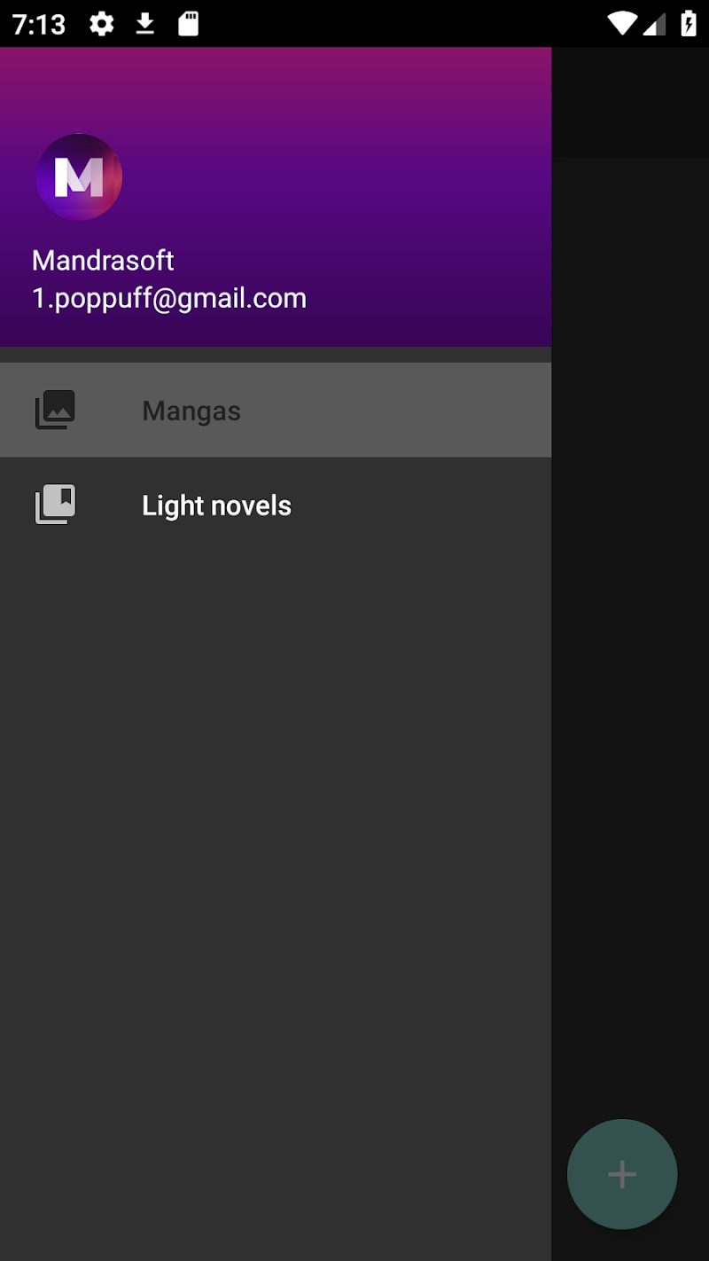 Mandrasoft Manga//Light-novel Reader APK Cracked Free Download