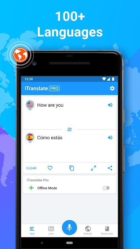 iTranslate Translator & Dictionary screenshots