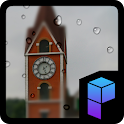 Clock Tower in the Rain Theme icon
