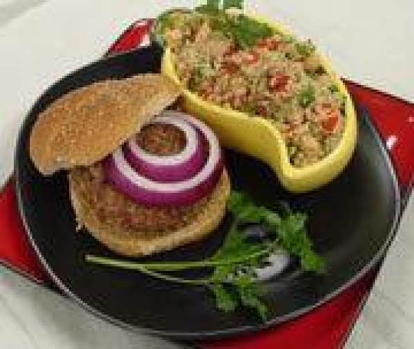 Bulgur Burgers Recipe