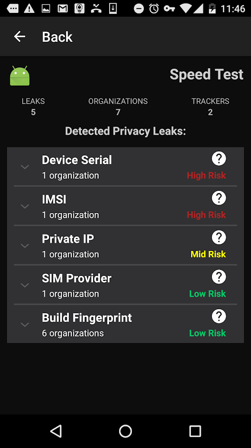 Lumen Privacy Monitor- screenshot