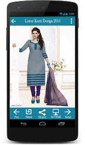 Latest Kurti Design 2016 screenshot 2