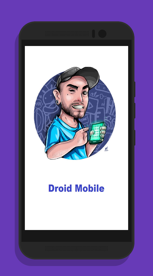 DroidMobile- screenshot