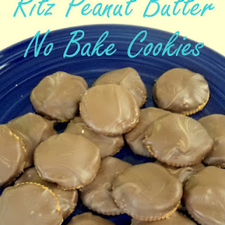 Ritz Peanut Butter No Bake Cookies.