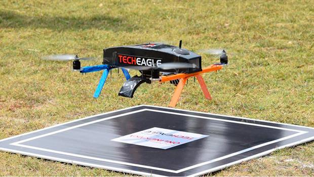 drone deliveries in Africa TechEagle