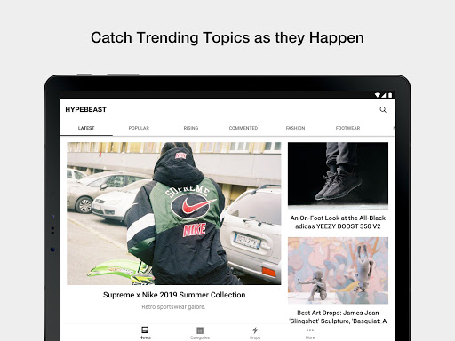 HYPEBEAST - News, Fashion, Kicks - screenshot